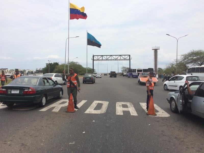 Mancomunidad Policial reporta total normalidad en el Puente sobre El Lago