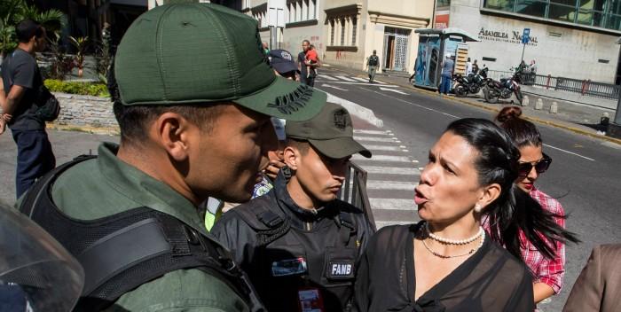 """Mariela Magallanes: """"Venezuela está harta de tanta represión y atropello de la GNB"""""""