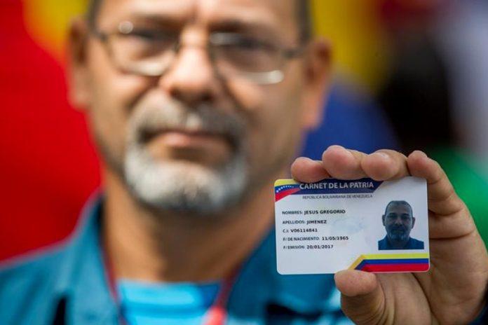 Más de 10,5 millones de venezolanos han obtenido el Carnet de la Patria