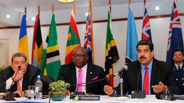 Presidente revisó acuerdos de cooperación con Estados del Caribe Oriental