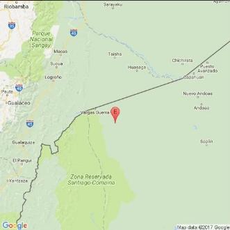 Registran sismo de magnitud 4,6 en provincia amazónica de Ecuador