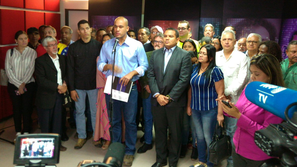 Rodríguez: La oposición ha planteado un intento de golpe de Estado parlamentario