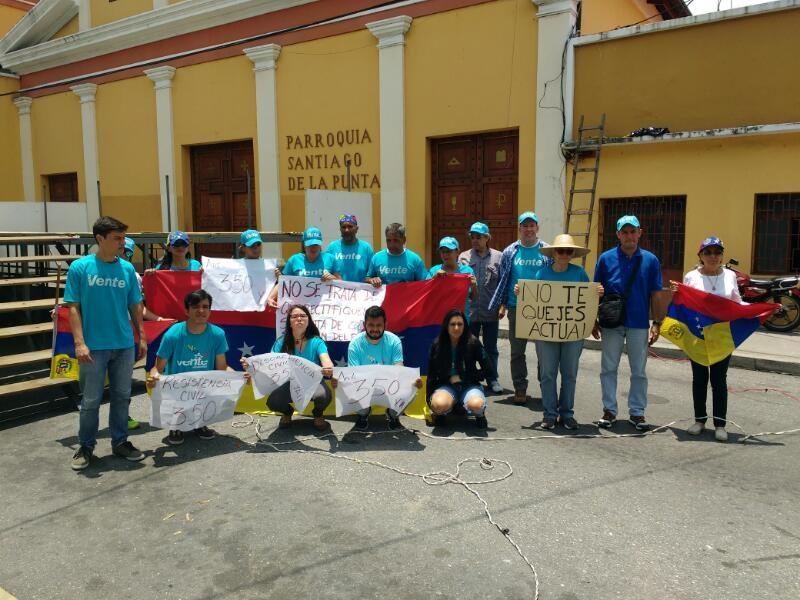 Vente Venezuela se movilizó por la libertad del país