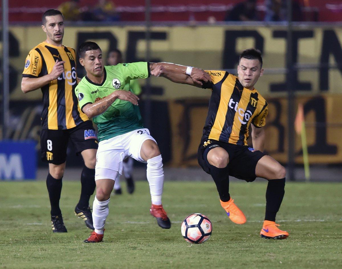 Zamora cayó en su segundo encuentro en Libertadores
