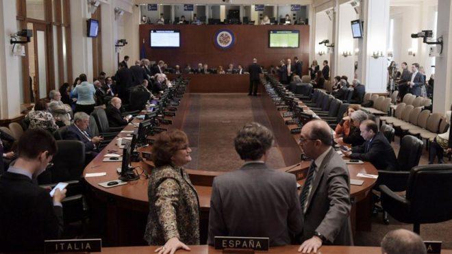 OEA aprobó celebrar reunión de cancilleres sobre Venezuela el 31 de mayo
