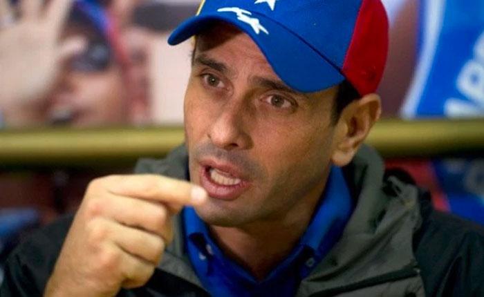 Capriles afirma que quien anula los pasaportes de la oposición trabajó con Diosdado Cabello
