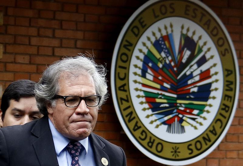 El secretario de la OEA habló con Leopoldo López