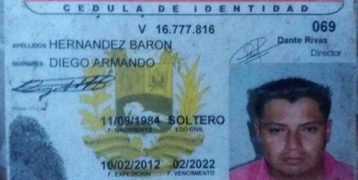 Alcaldesa de San Cristóbal: Policía Regional asesinó a Diego Hernández