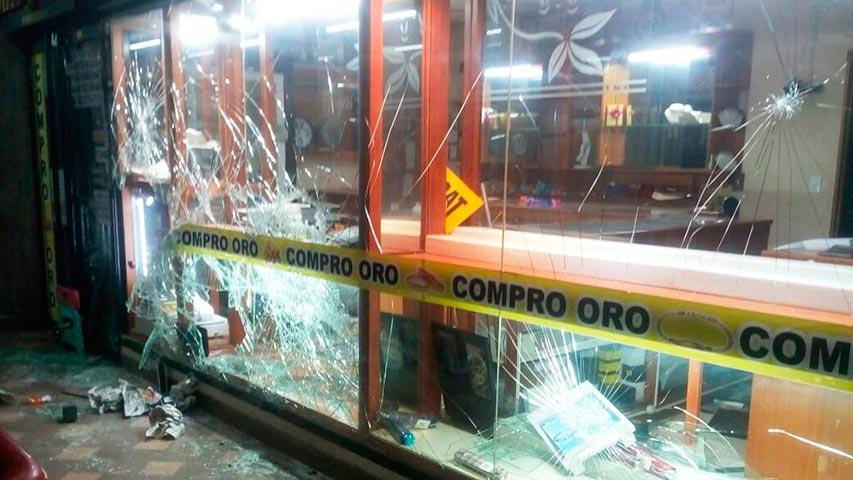 Cerca de 200 detenidos tras actos vandálicos en Los Teques