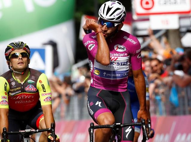 El colombiano Fernando Gaviria ganó su cuarta etapa en el Giro de Italia