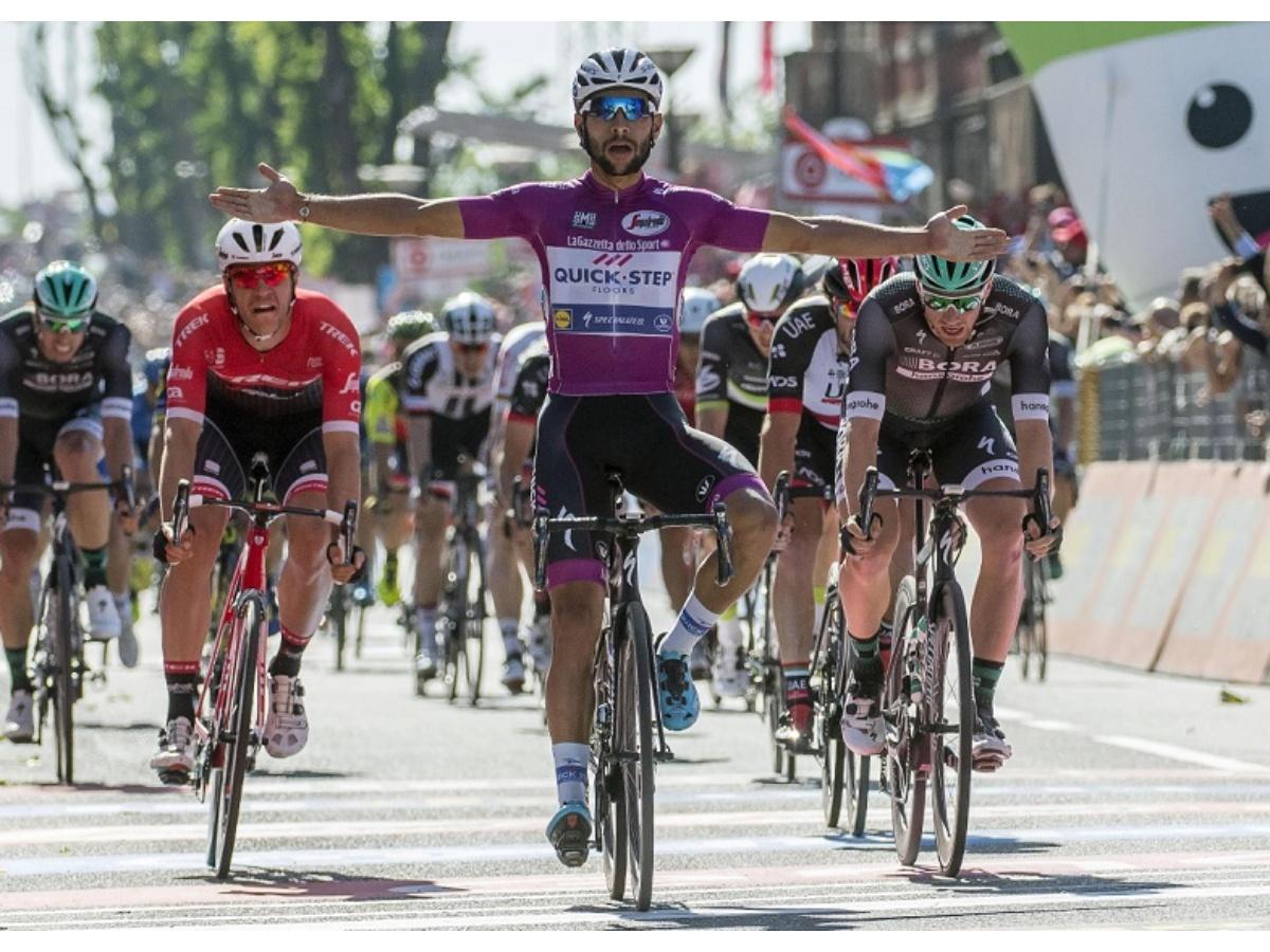Gaviria conquista su cuarta etapa en el Giro de Italia