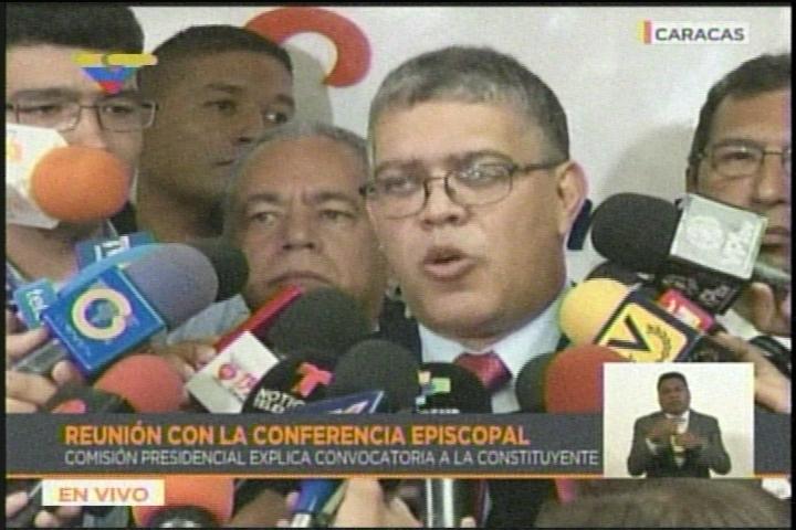 """Jaua tras reunión con la CEV: """"De aquí en adelante lo que viene son elecciones"""""""