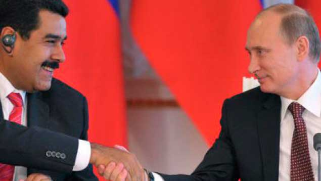 Maduro conversó con Putin sobre recorte de producción de crudo