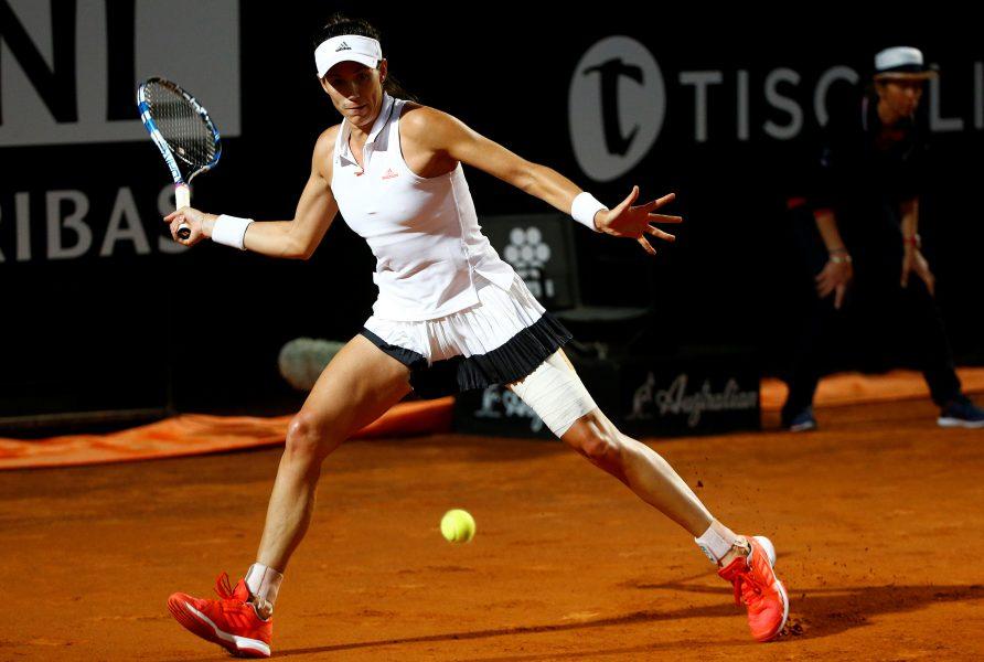 Muguruza elimina a Venus Williams y pasa a la semifinal de Roma