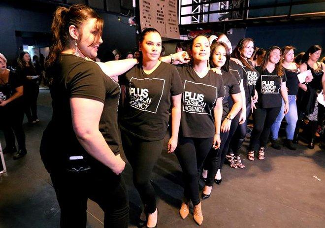 Mujeres de talla grande buscan oportunidad en el modelaje colombiano (+fotos)