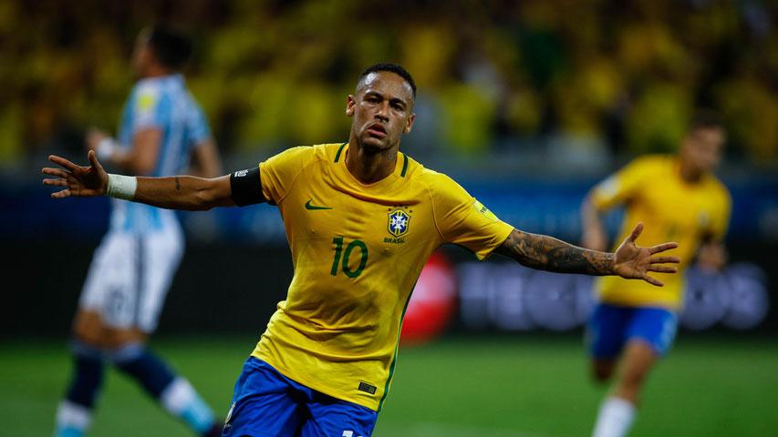 Neymar no estará presente en el partido amistoso contra Argentina