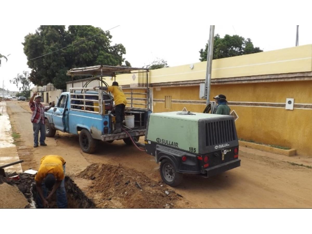 Sagas restablece el servicio doméstico en el sector Irama