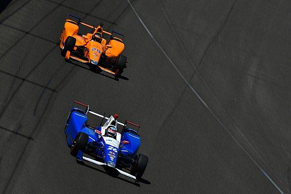 Takuma Sato está impresionado con el desempeño de Alonso en la Indy 500