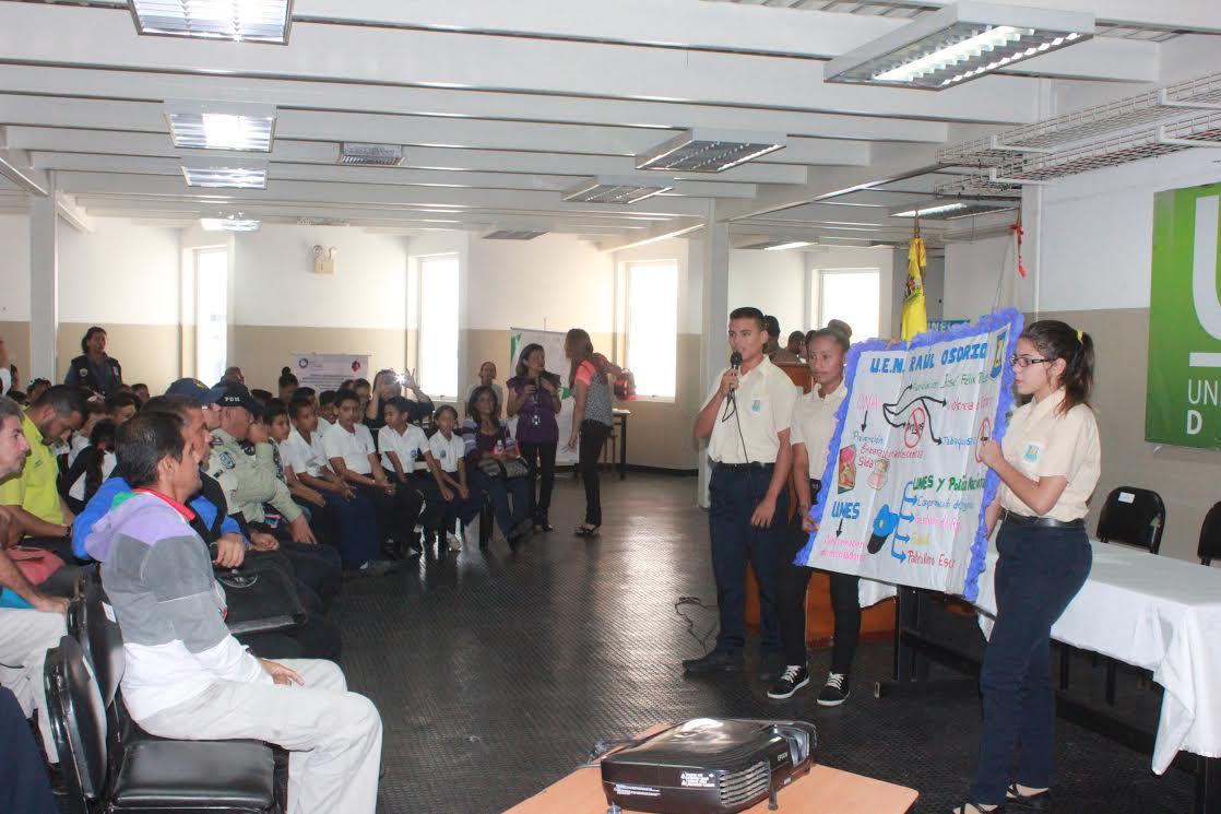UNES Zulia realizó encuentro de brigadas escolares