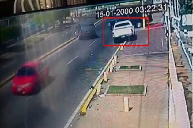 Vídeo de la camioneta que mató a Paul: Dos hombres y una mujer iban en el vehículo – DiarioRepublica.com