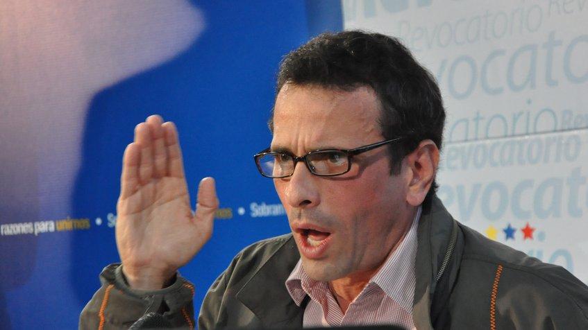 Capriles asegura que dentro de la FANB la mayoría rechaza la Constituyente