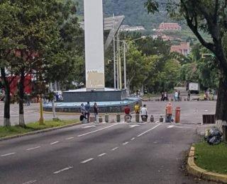 Protestan en San Cristóbal por falta de gas