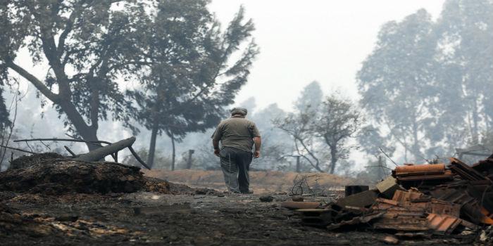 """Unos 30 expertos brindan apoyo """"psicosocial"""" a víctimas del incendio en Portugal"""