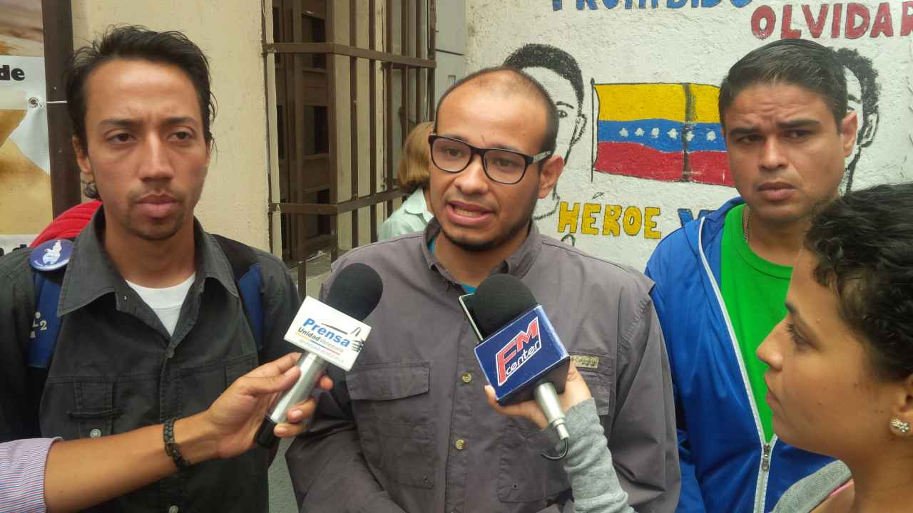 Rojas acusó a la PNB de ataques en contra de protestantes en La Candelaria