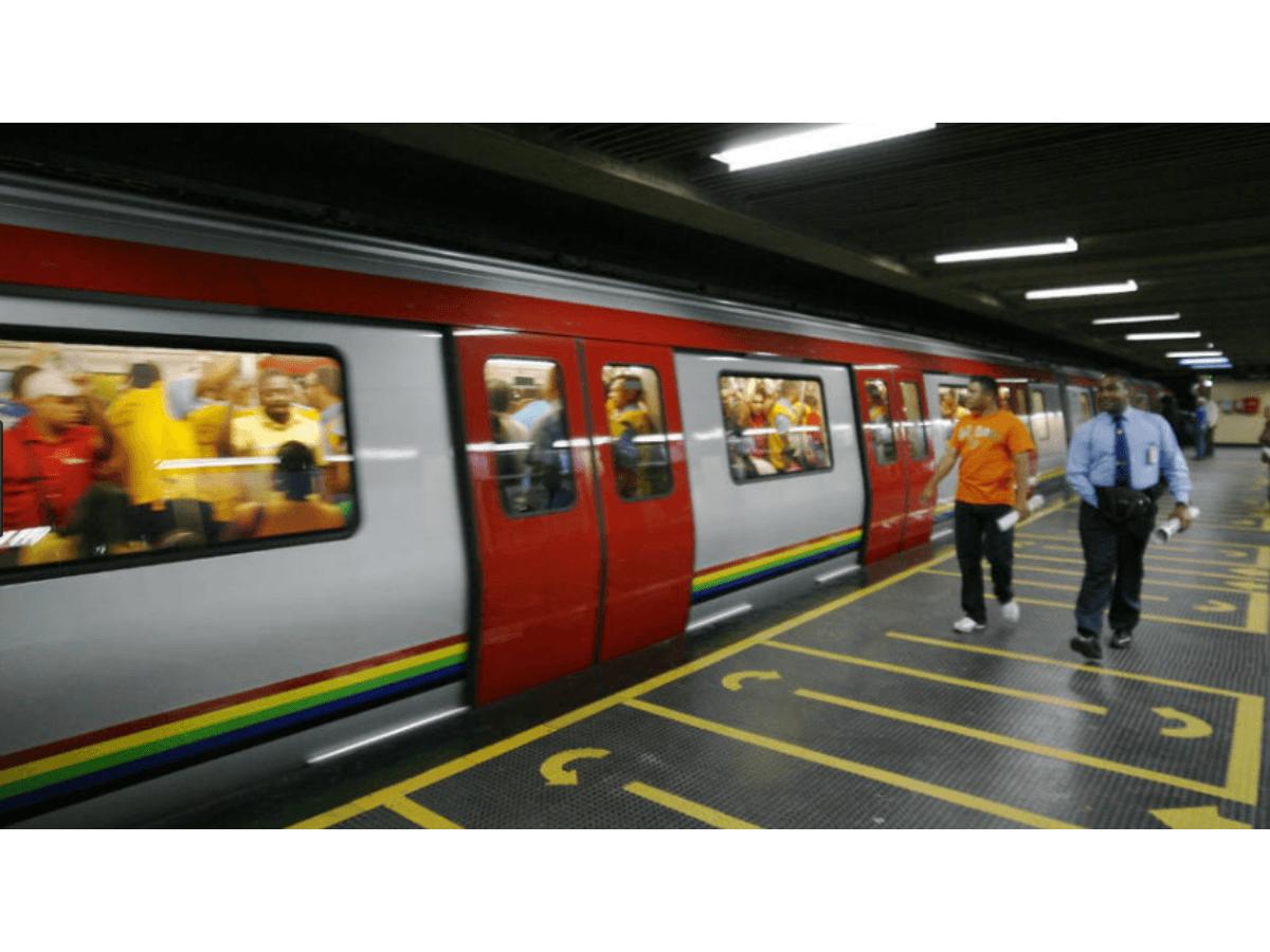 Cerradas temporalmente cinco estaciones del Metro de Caracas este lunes