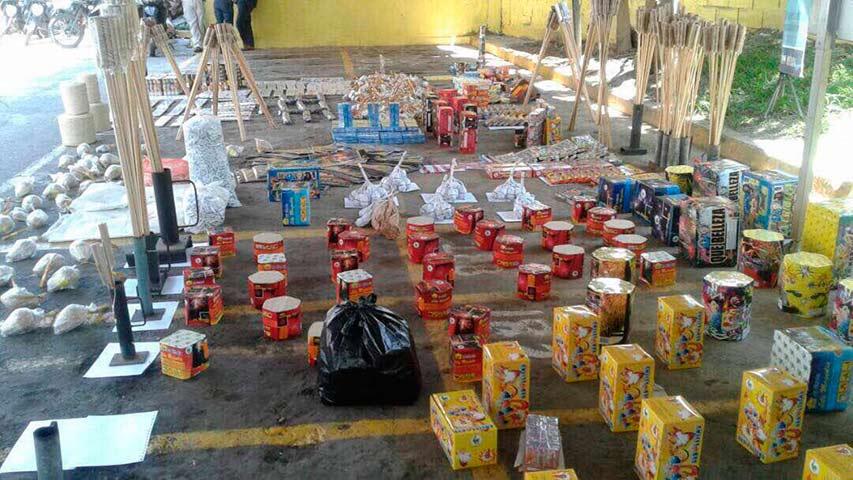 Cicpc incautó material bélico durante allanamiento en Mérida