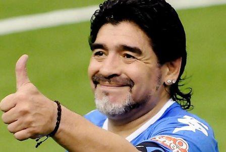 Diego Maradona: Me gusta más Messi que Cristiano Ronaldo