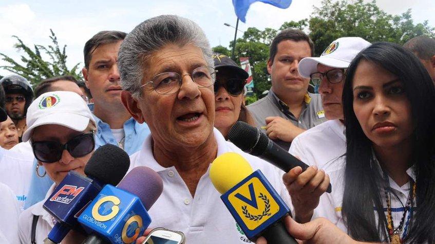 Henry Ramos Allup: Venezuela está empeñada en buscar la salida democrática, pacífica y constitucional