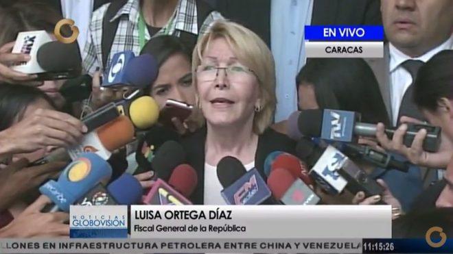 Luisa Ortega Díaz solicita antejuicio de mérito a magistrados de la Sala Constitucional del TSJ