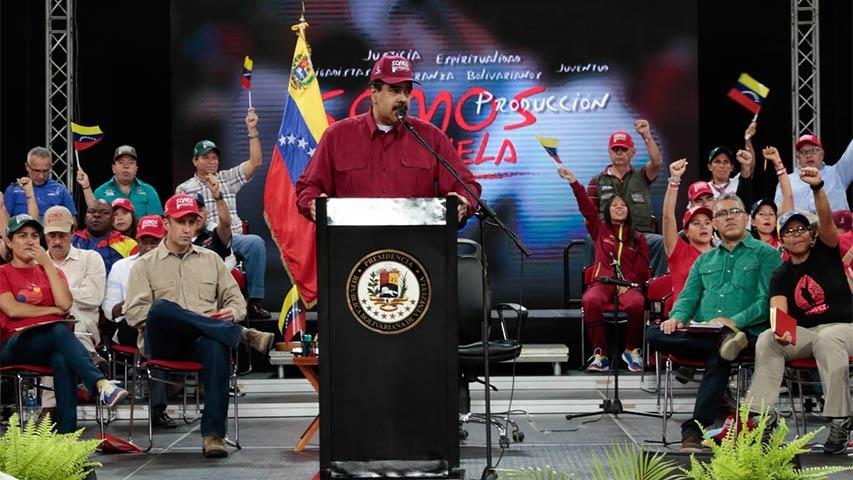 """Maduro exhortó a la Fiscal a """"ponerse las pilas porque el pueblo pide justicia"""""""