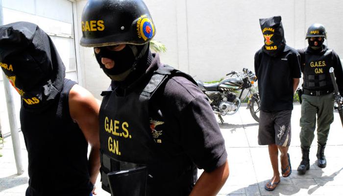 Mueren tres secuestradoresal enfrentar comisiones del Gaes y PN en Parmaná, estado Guárico