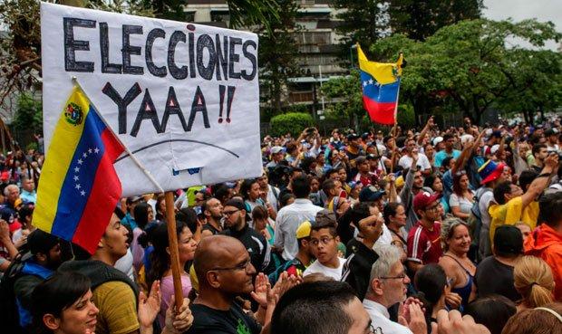 Oposición anunció masivas movilizaciones para este 14 y 15 de junio en todo el país