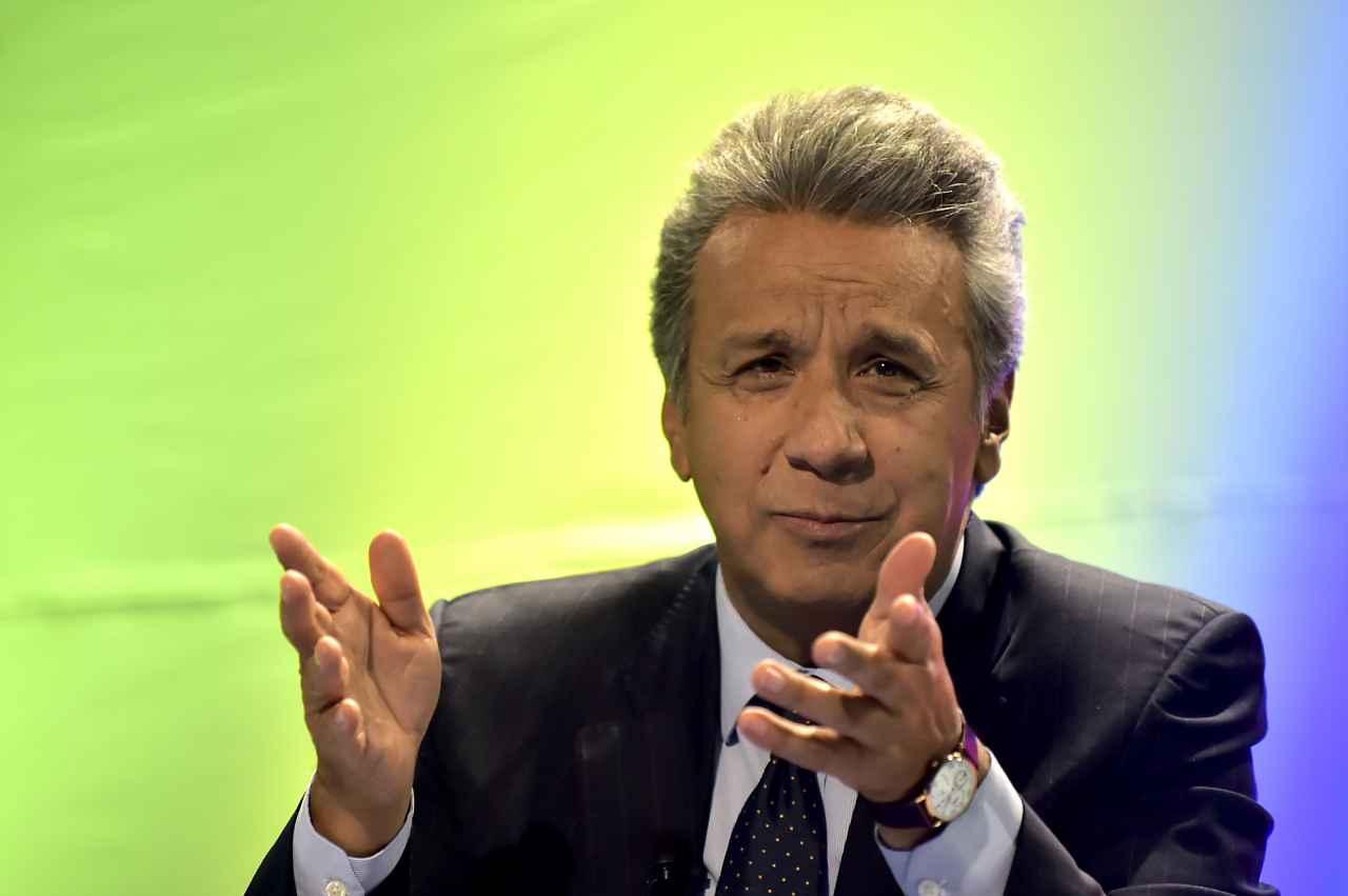 """Moreno quiere """"reconciliar"""" a Ecuador pese a reproches de Correa"""