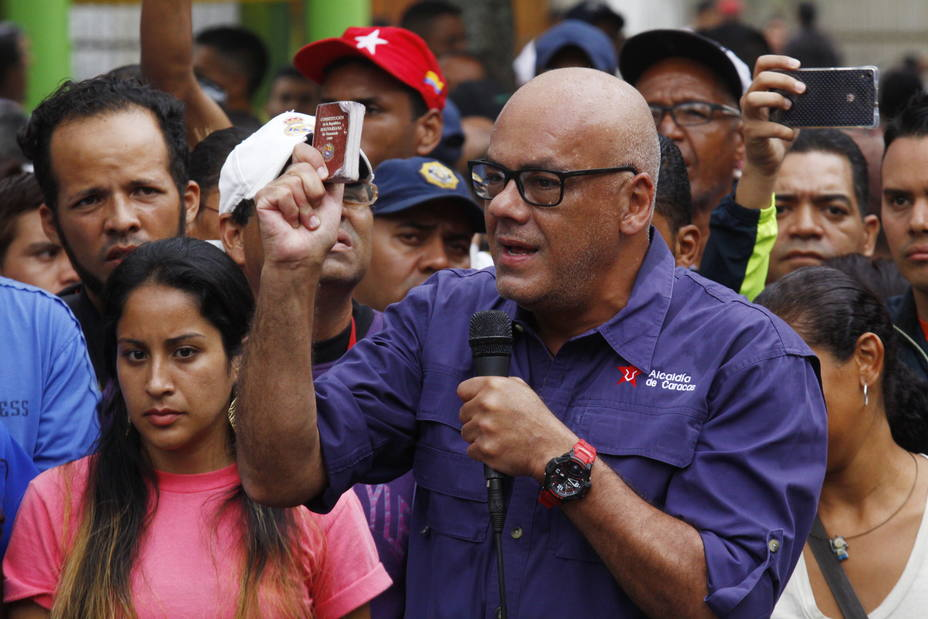 """Jorge Rodríguez aseguró que si gana el """"No"""" en la consulta de la constituyente, se mantendrá actual Constitución"""