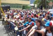 Pacíficamente se desarrolló la marcha en Mérida esta 5 de julio