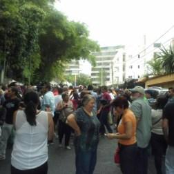 Ambiente en la casa de Leopoldo López