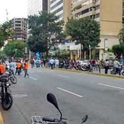 Inicia trancazo nacional en Caracas (+Fotos)