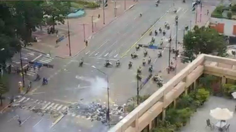 Salud Chacao atendió a 13 personas durante trancazo de este 10J