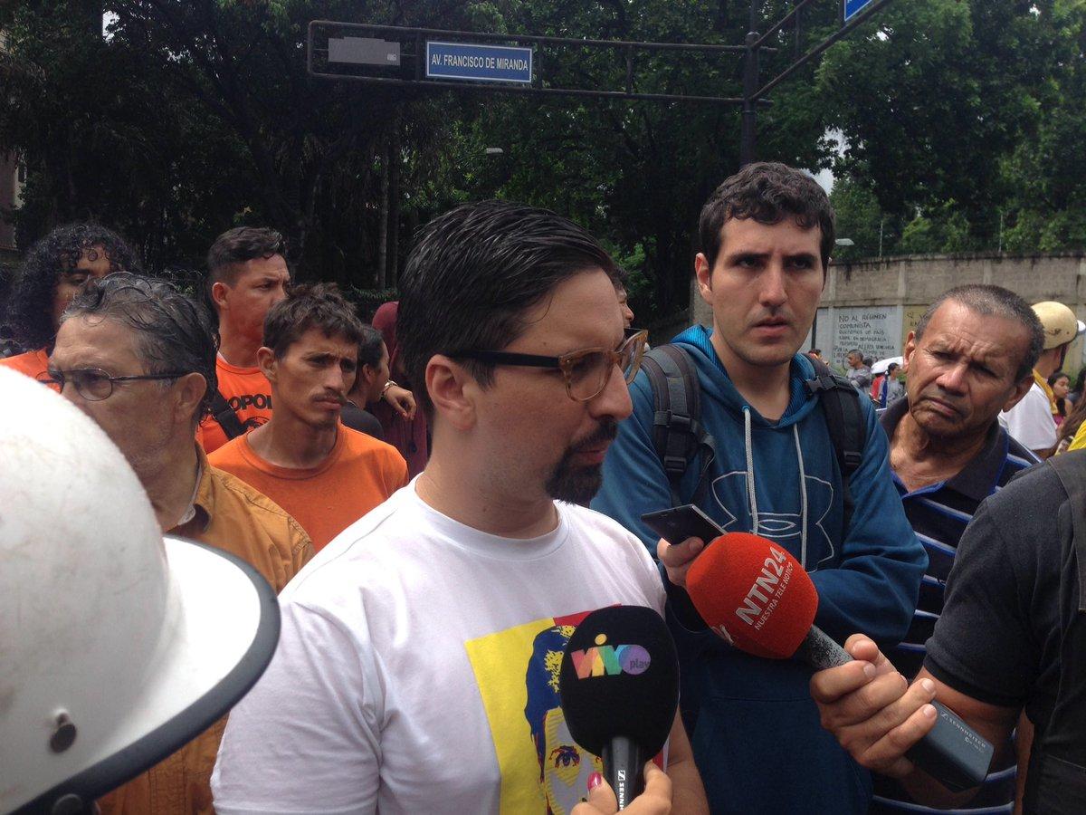 """Freddy Guevara: """"Las actividades de calle se mantendrán hasta lograr la libertad del país"""""""
