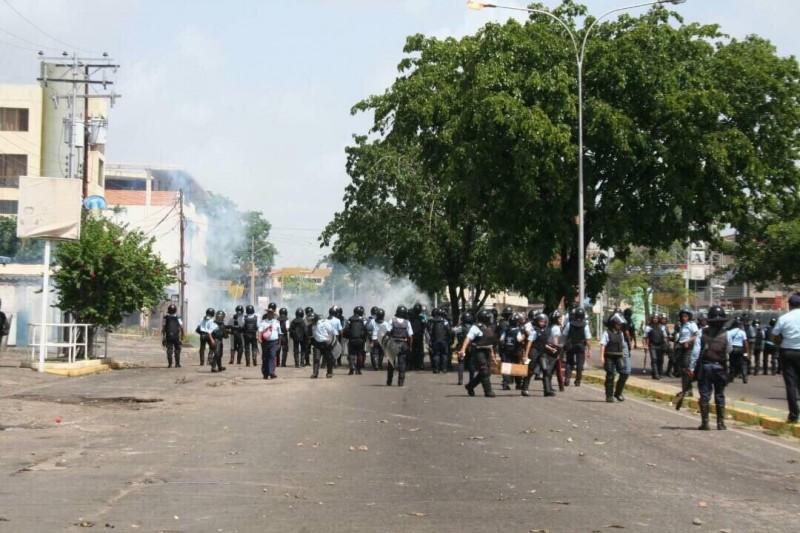 Trancazo en Ciudad Bolívar dejó 3 detenidos y 7 heridos por perdigón