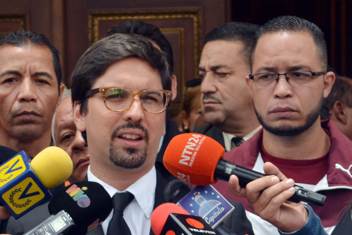 """Freddy Guevara: """"Maduro tiene que entender que no puede gobernar Venezuela"""""""
