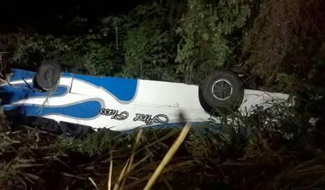 Seis personas heridas dejo accidente vial entre Anzoátegui y Sucre