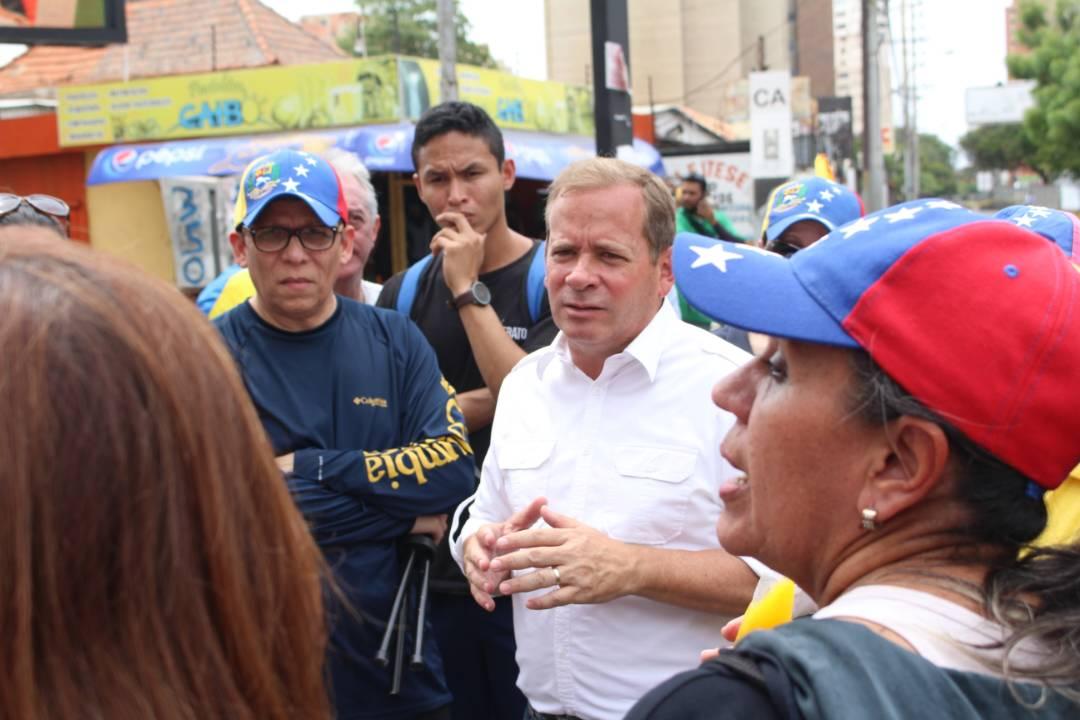 Guanipa asegura que Trancazo demuestra el combate de los venezolanos que quieren democracia