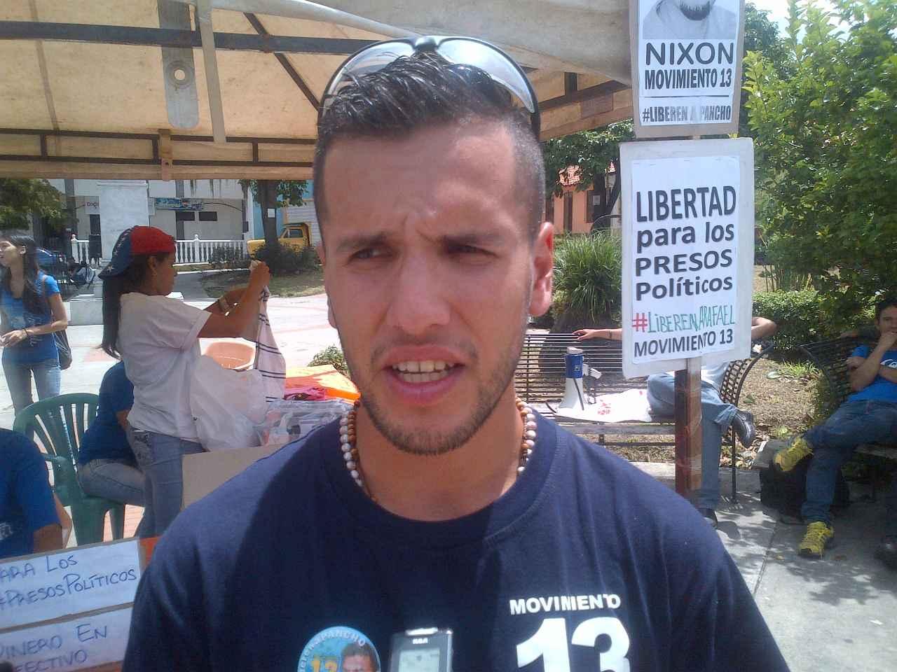 Recolectan alimentos, medicinas y artículos de higiene para los presos políticos de Mérida