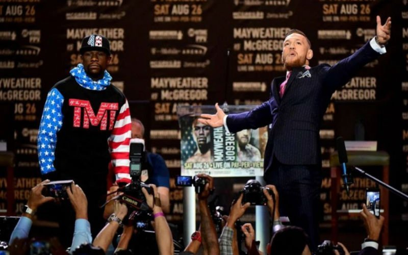 McGregor promete ganar en cuarto asalto; Mayweather que le pateará el trasero