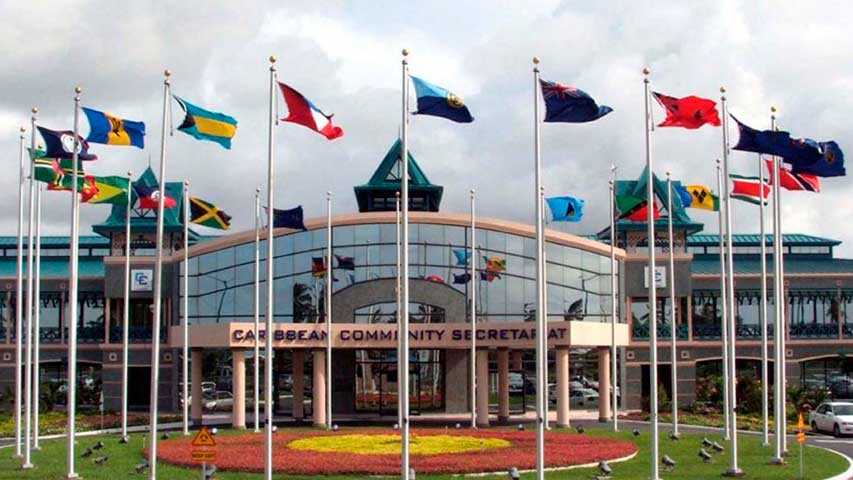 Presidente Caricom pide llegar a una posición firme sobre crisis en Venezuela